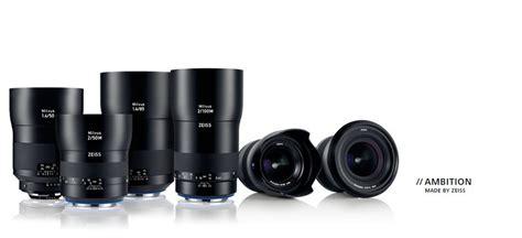 Lensa Kamera Canon Dan Nikon zeiss rilis 6 jajaran lensa milvus untuk kamera nikon dan canonpasartekno teknologi