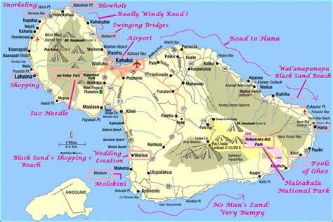 printable road to hana map image gallery maui waterfalls map