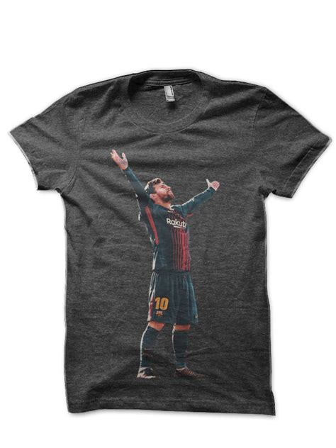 T Shirt Lionel Messi Harmony Merch lionel messi charcoal grey t shirt swag shirts
