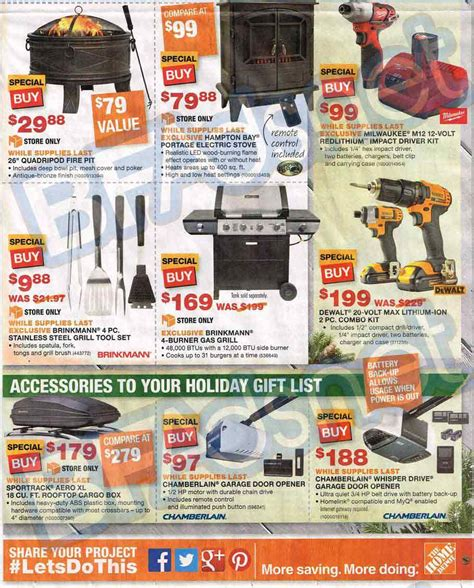 home depot black friday 10