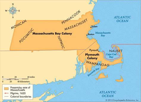 who established plymouth colony massachusetts bay colony american history britannica