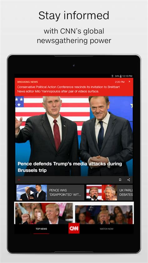cnn news cnn breaking us world news android apps on play