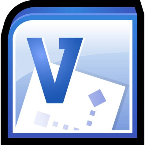 visio file icon microsoft office visio icon office 2010 icons