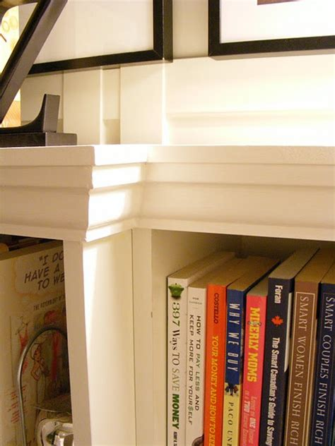 How To Make Bookcases Look Built In How To Make An Ikea Billy Shelf Look Like A Built In A