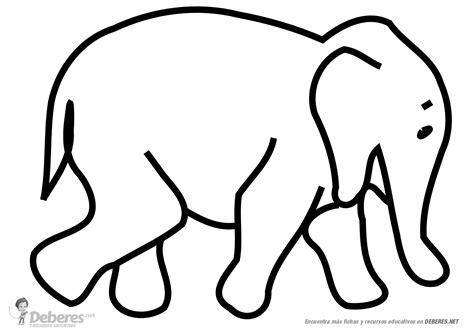 imagenes para colorear elefante elefante para colorear
