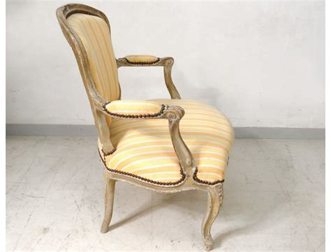 convertible armchair armchair louis xv carved lacquered wood seat convertible
