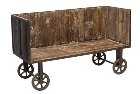 sofa on wheels recylced teakwood iron sofa on wheels holiday estates