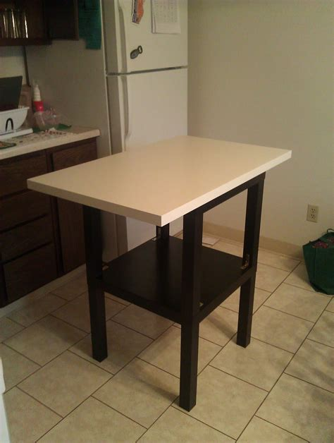 cheap kitchen island tables cheap lack kitchen island ikea hackers ikea hackers