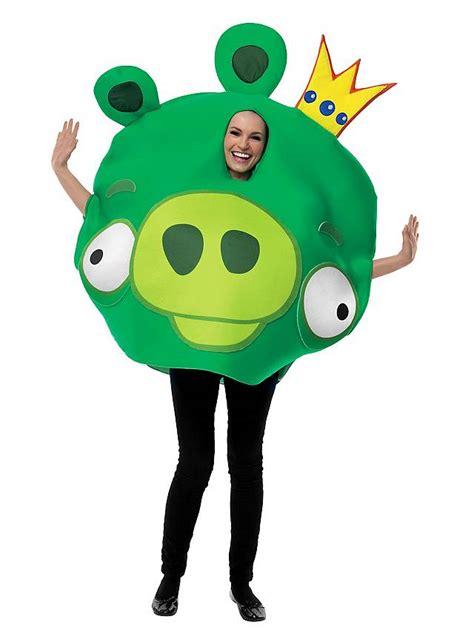 fancy dress costume adult gaming cartoon angry birds red med 38 40 angry birds king pig costume