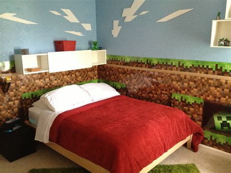 Minecraft Bedroom Design | amazing minecraft bedroom decor ideas cube shapes and