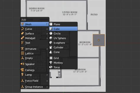 create a 3d floor plan for free create a 3d floor plan model from an architectural schematic in blender