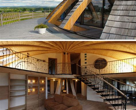 rotating house rotating eco friendly dome home spins on a central axis