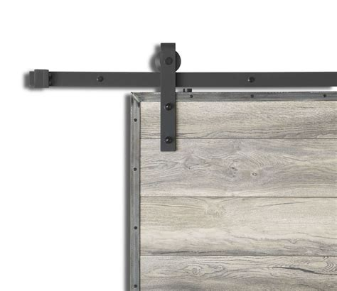 Barn Door Rails Canada - onward traditional style concealed rail system for