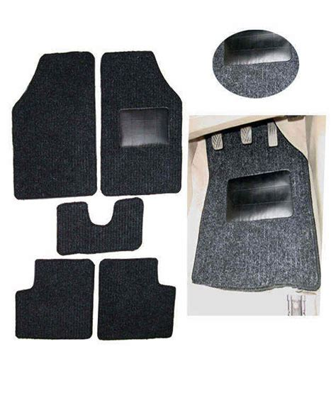 hi art carpet black floor mats xuv 500 buy hi art