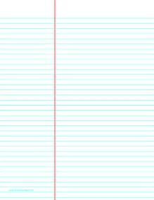printable law ruled paper