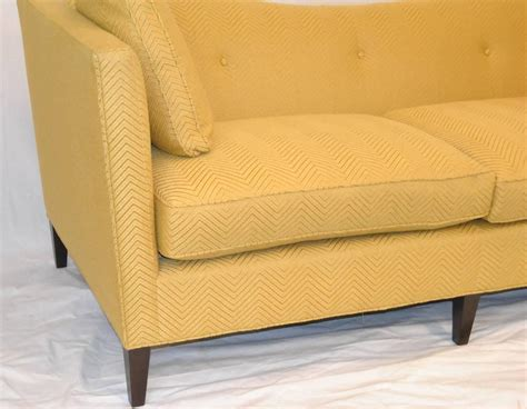 butter yellow sofa french tuxedo butter yellow sofa by baker furniture baker