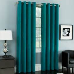 Light Blue Grommet Curtains Teal Curtains Living Room Pinterest A Well Patio