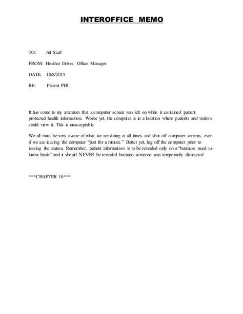 memo to staff template interoffice memo