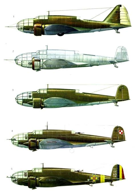 wwii 1939 bomber pzl 37 los books 1000 images about pzl 37 łoś on