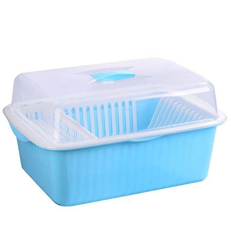Asunflower Plastic Dinnerware Storage Case with Lid Dishes