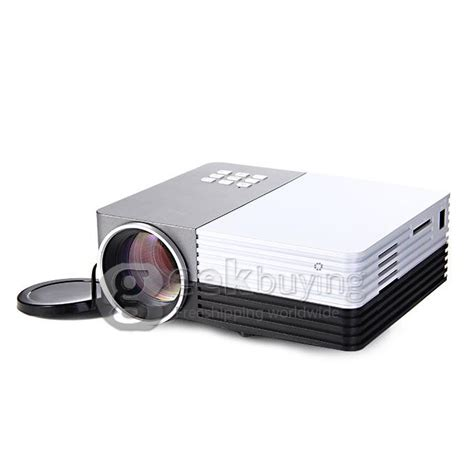 Gm50 Projector gm50 multimedia 30w 80lm 1080p lcd image system led projector