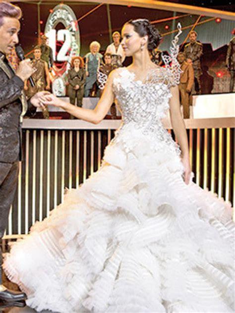 Gamis Pop Dress Pop 2 figurine katniss wedding dress the hunger funko pop