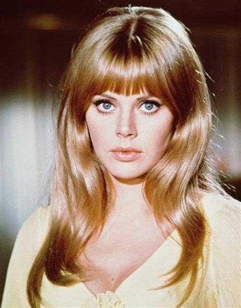 britt ekland long layered hairstyles pictures of britt ekland with shag haircut
