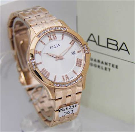 Harga Jam Tangan Alba Warna Emas model jam tangan alba terbaru untuk wanita jam tangan elegan wanita