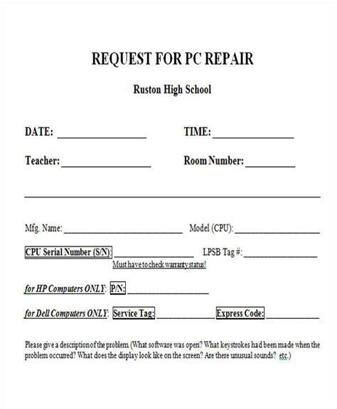 computer repair work order form template repair form repair authorization forms portatree timing