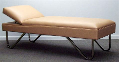 recovery couch recovery couch with adjustable headrest wmc manufacturing