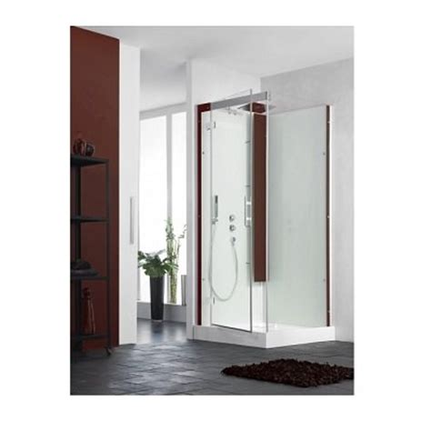 cabine horizon 2 bas 90c thermostat acier salle de bain