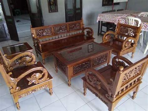 Kursi Tamu Arimbi Jati Kursi Minimalis Dipan Sofa Meja Rak kursi tamu ukir arimbi