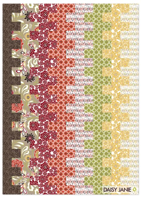 Quilt Pattern Using 8 Fat Quarters | daisy janie downloadable pattern lap quilt with tilly
