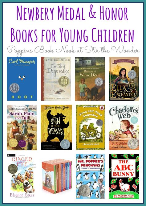 honor books newbery medal and honor books for children