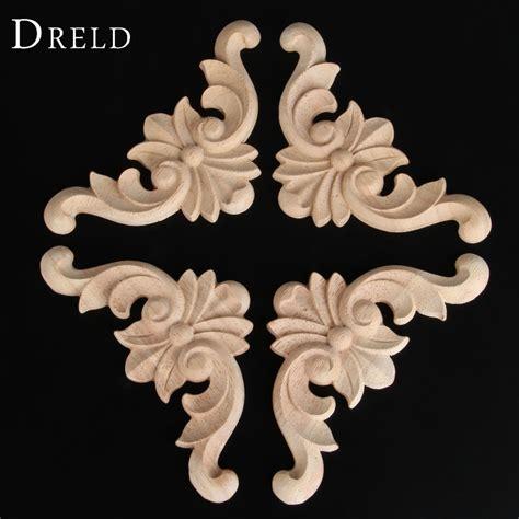 pc woodcarving decal corner wood carved corner furniture