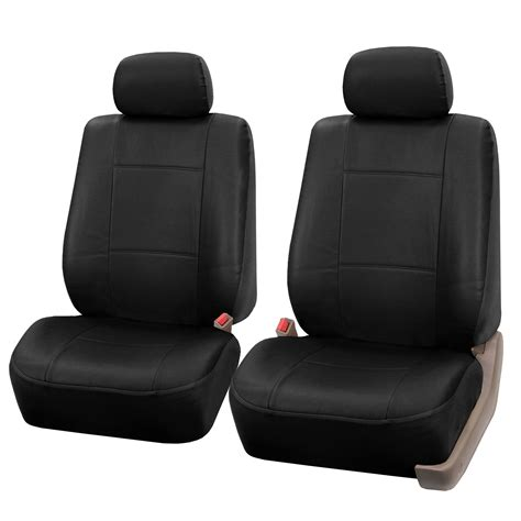 seat covers for leather seats pu leather seat covers for seats with detachable headrests ebay
