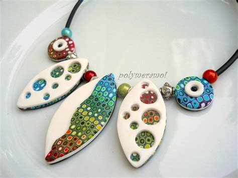 polymer clay jewelry techniques the daily polymer arts retro blend
