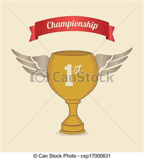 vectors of championship label over pink background vector