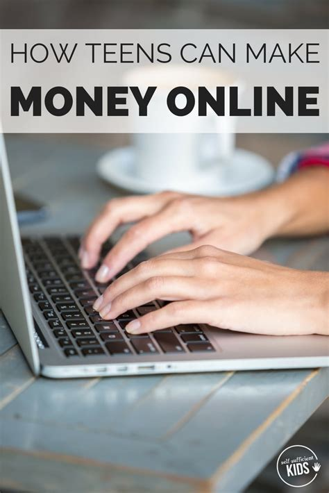 Make Money Online Kid - 10 ways teens can make money online