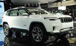 Jeep Hybrid Suv Jeep Finds Green Groove With 7 Seat In Hybrid Suv