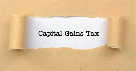do you to worry about capital gains tax org