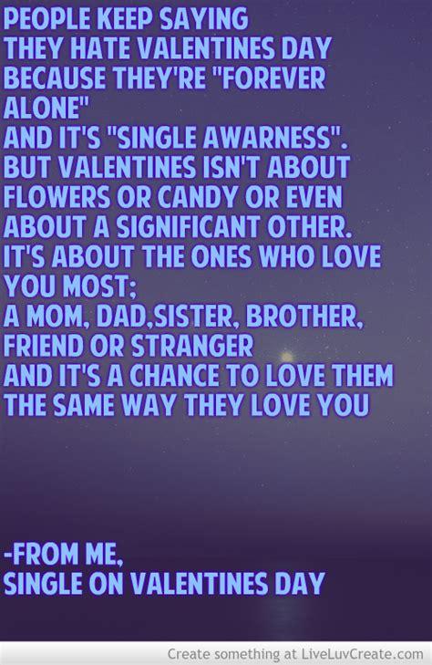 single  valentines day quotes quotesgram