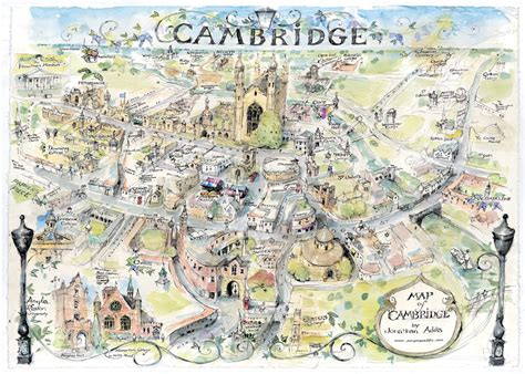 cambridge map step back in time 10 facts about