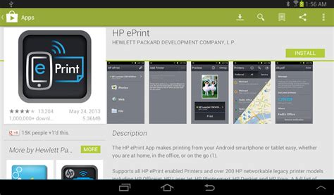 hp eprint mobile app how to print wirelessly from your galaxy tab 2 informit