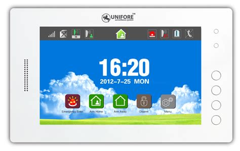 new burglar alarm system with home automation function