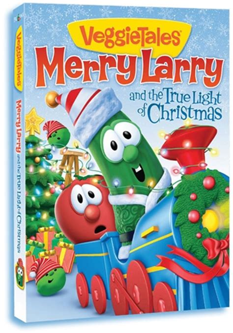 find the spirit of the season with veggietales merry