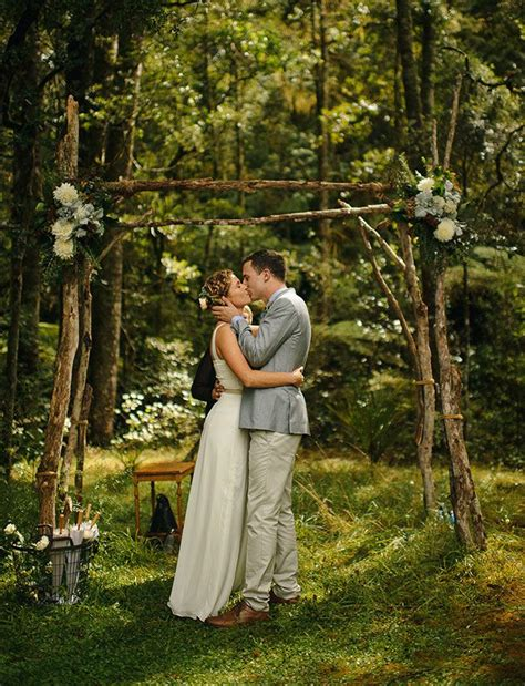 Wedding Arch Bc by Picture Of Charming Woodland Wedding Arches And Altars 8