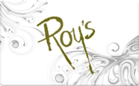 Roys Gift Cards - roy s hawaiian fusion gift card discount 14 28 off