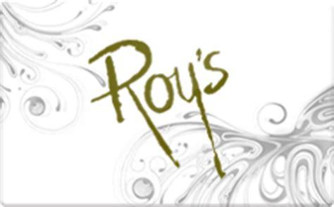 Roys Gift Card - roy s hawaiian fusion gift card discount 14 98 off