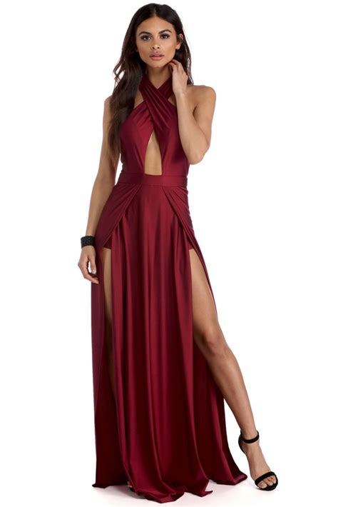 Bridesmaid Dresses With Slits Up The Leg - best 25 slit dress ideas on dress